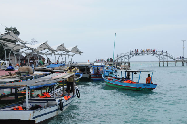 nuga co jadi turis u201cbackpacker u201d ke pulau tidung rh nuga co