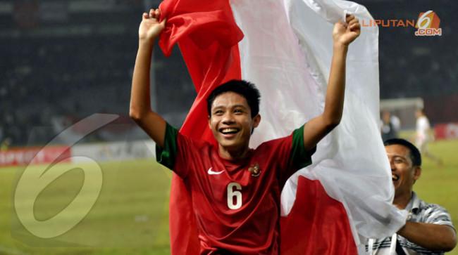 """Evan Dimas Darmono, kini, bintang di """"langit terang"""" sepakbola"""