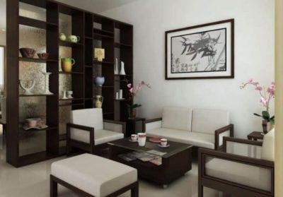 Ruang Tamu Sederhana Konsep Modern